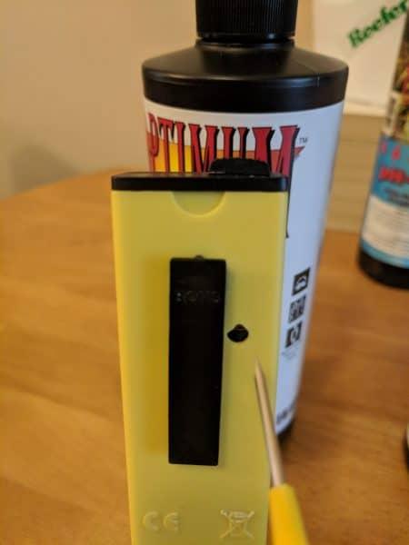 Calibrer un stylo pH