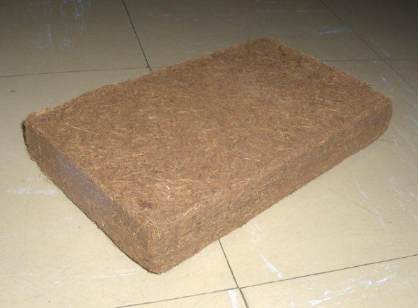 brique de fibre de coco
